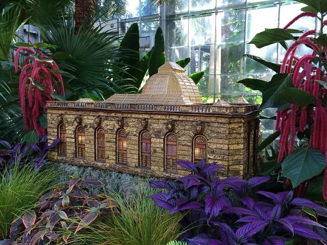 US Botanic Garden Conservatory replica