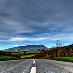 Abergavenny.. just.. follow the road :)