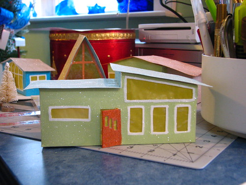 mid century Putz houses