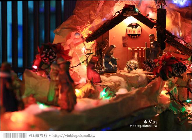 【萬金教堂】屏東萬金教堂聖誕季~3D光雕秀+耶誕地景藝術/全台最濃耶味小鎮!48