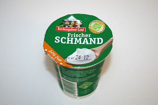 13 - Zutat Schmand / Ingredient sour cream