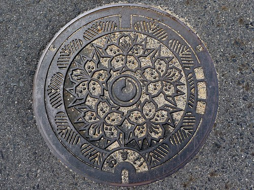 Shigaraki Shiga, manhole cover (滋賀県信楽町のマンホール)