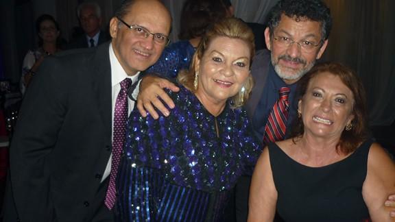 Carlos Martins, Graça Gonçalves, Paulo Rocha e Zeíla Diniz