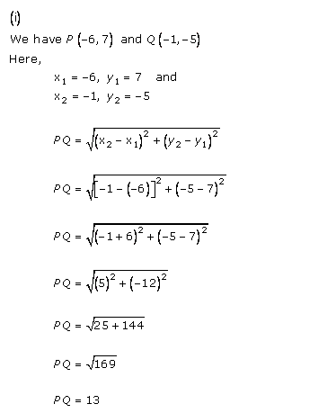 RD-Sharma-class 10-Solutions-Chapter-14-Coordinate Gometry-Ex-14.2-Q1 i