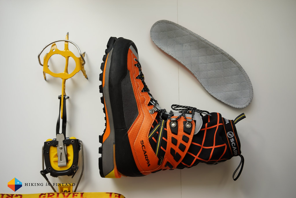 Grivel G20 Crampons & Scarpa Rebel Ultra GTX