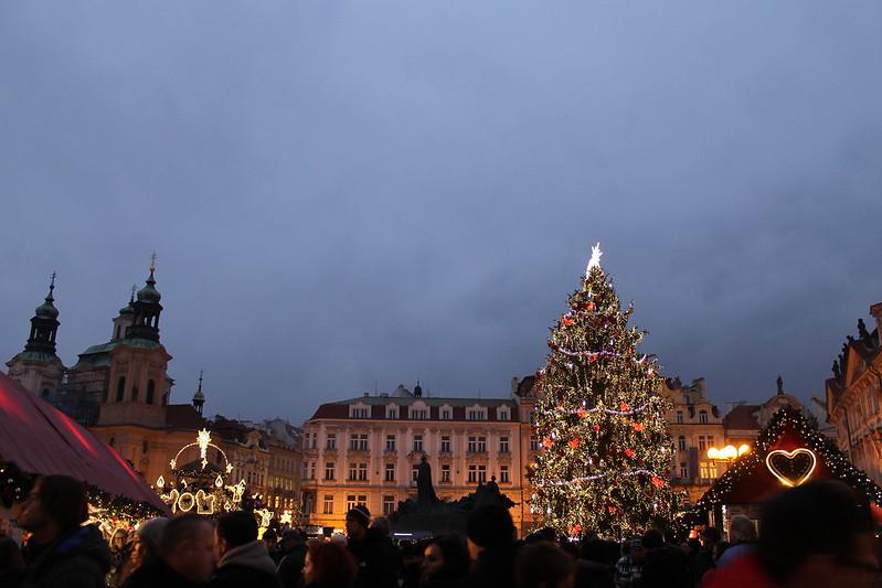 Christmas Market 2014 in Prague, Staroměstské náměstí