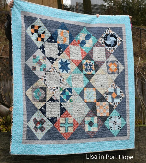Blocks from Virtual Quilting Bee with Amy at Diary of a Quilter