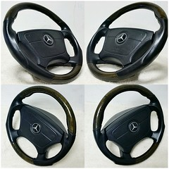 #For#Sale#Used#Parts#Mercedes#Benz#alyehliparts#alyehli#UAE#AbuDhabi#AlFalah#City  FOR SALE MERCEDES BENZ USED PARTS :  - SPORTLINE WOOD STEERING WHEEL   - FIT : W140/R129   - MADE IN GERMANY   - WEIGHT : 4.40 Kgm   Price : 1850-/AED Price : $500-/USD Pri