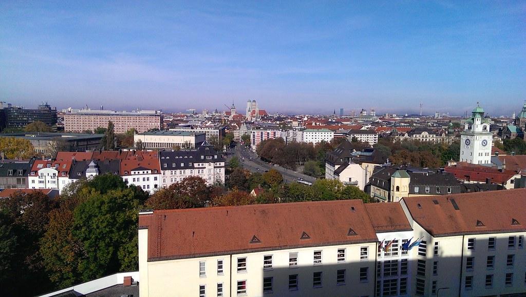 München - view Holiday Inn