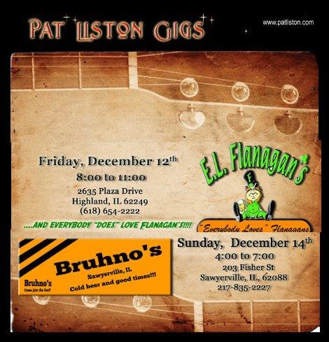 Pat Liston 12-12-14