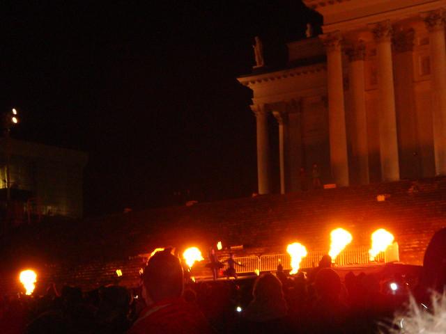 Шоу огня