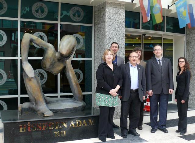 Üsküdar Üniversitesi ve Worcester Üniversitesi ERASMUS anlaşması imzaladı. 2