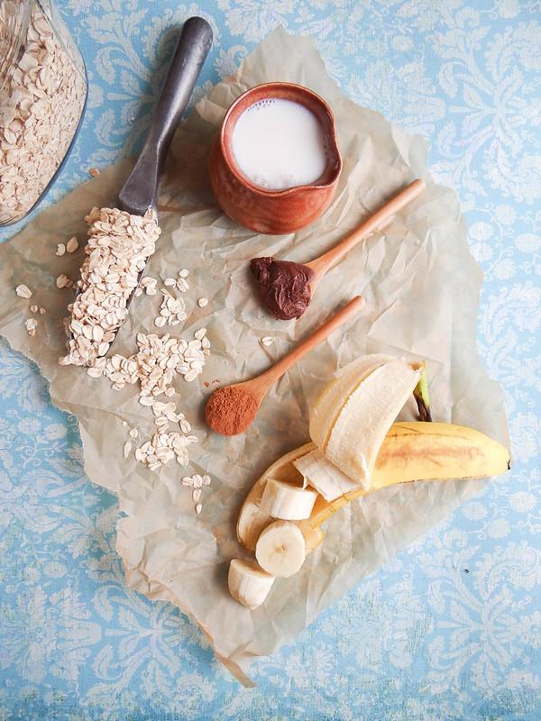 Peanut Butter Banana Oatmeal // SMBP