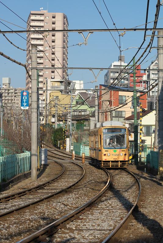 Tokyo Train Story 都電荒川線 2015年1月5日