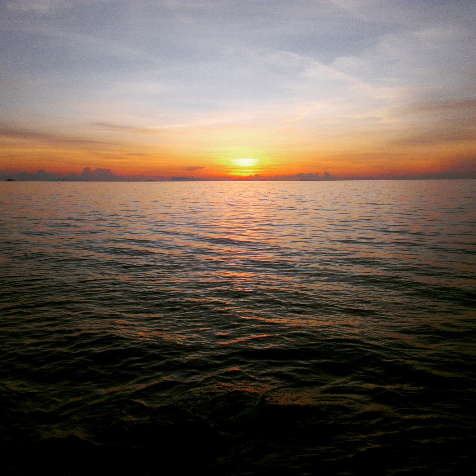 Sunset in Haad Son Koh Phangan