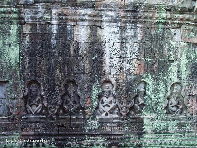 Пре Кан, Камбоджа, Ангкор