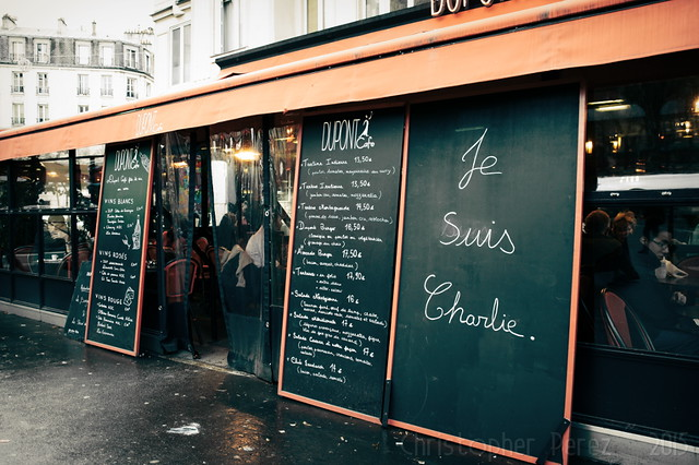Charlie Hebdo ~ Witnessing