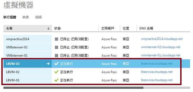 [Azure] VM - 負載平衡和高可用性-11