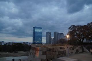 163 Uitzicht bij Kasteel Osaka
