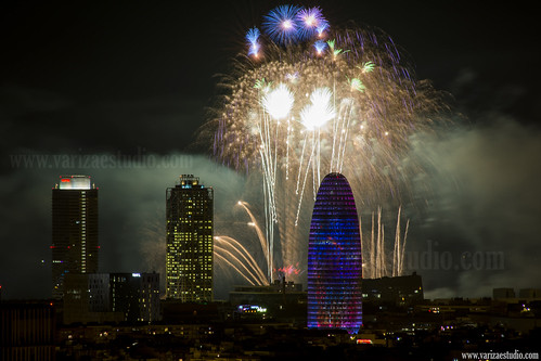 Barcelona fireworks