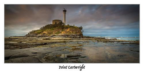 ocean trees lighthouse clouds sunrise canon point rocks pano 1740mm 6d cartwright cloudsstormssunsetssunrises