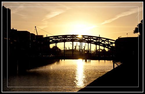 ciudades rincones puentes atardeceres puertos ocasos