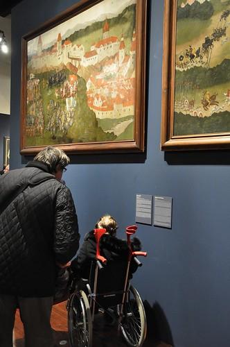 Výstava Hrady a zámky objevované a opěvované (19.12.2014-15.12.2015). Popisky jen pro někoho