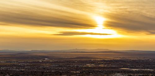 sunset sky newmexico clouds landscape desert albuquerque nm grantcondit
