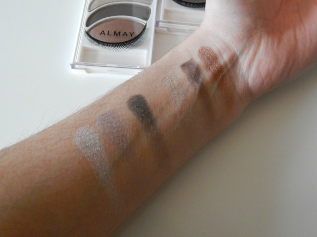 Almay Intense i-color Eyeshadows, review and swatches