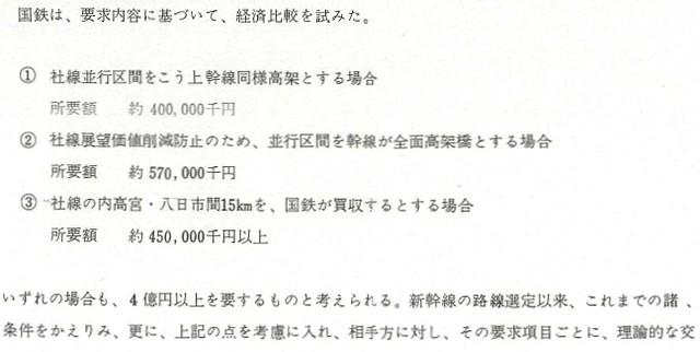 東海道新幹線工事誌の近江鉄道関連部分5