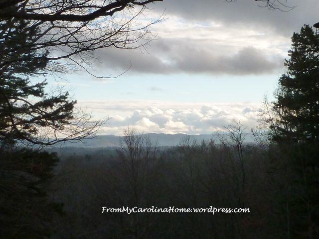 Valley dusk December