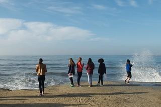 King Tide Observation -   Mirada Surf Park, El Granada, CA.