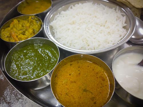 Veg. Thali in Civil Restaurant @ Mumbai 2