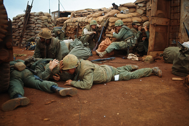 On January 31, 1968, approximately 70,000 North Vietnamese and Viet Cong forces began a series of attacks on the U.S. and South Vietnamese.