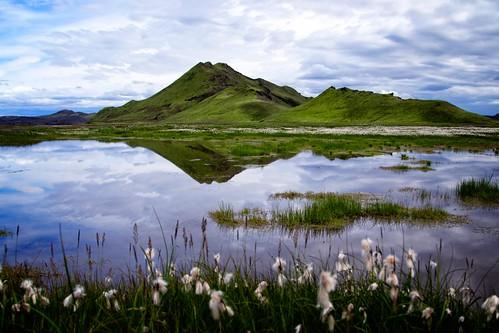 travel water canon landscape iceland postcard lapinski