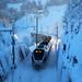 Wintertrain to St.Gallen by Rolf-Schweizer