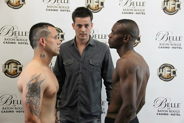 WFC 20 Weigh-Ins April 25th,2014 at the Belle Of Baton Rouge