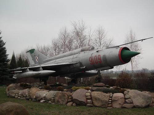 9109 Mikoyan-Gurevich MiG-21 Wlodawa 24-11-14