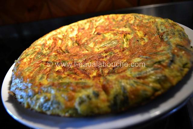 Omelette de Haricots Verts © Ana Luthi Tous droits réservés 015