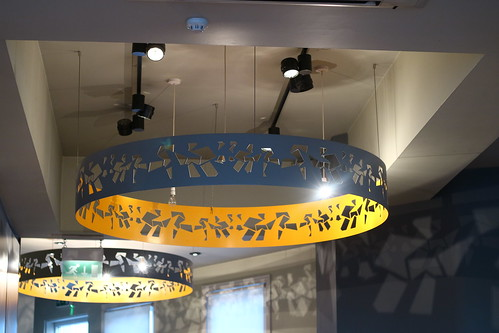 Pizza Express Sheffield decor