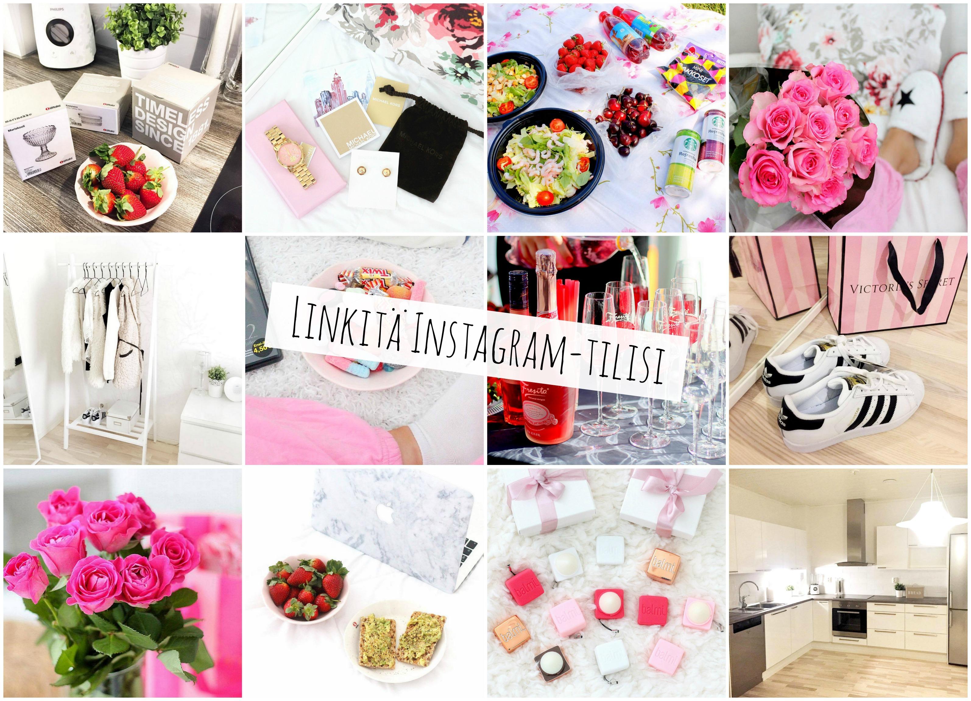Linkitä Instagramisi