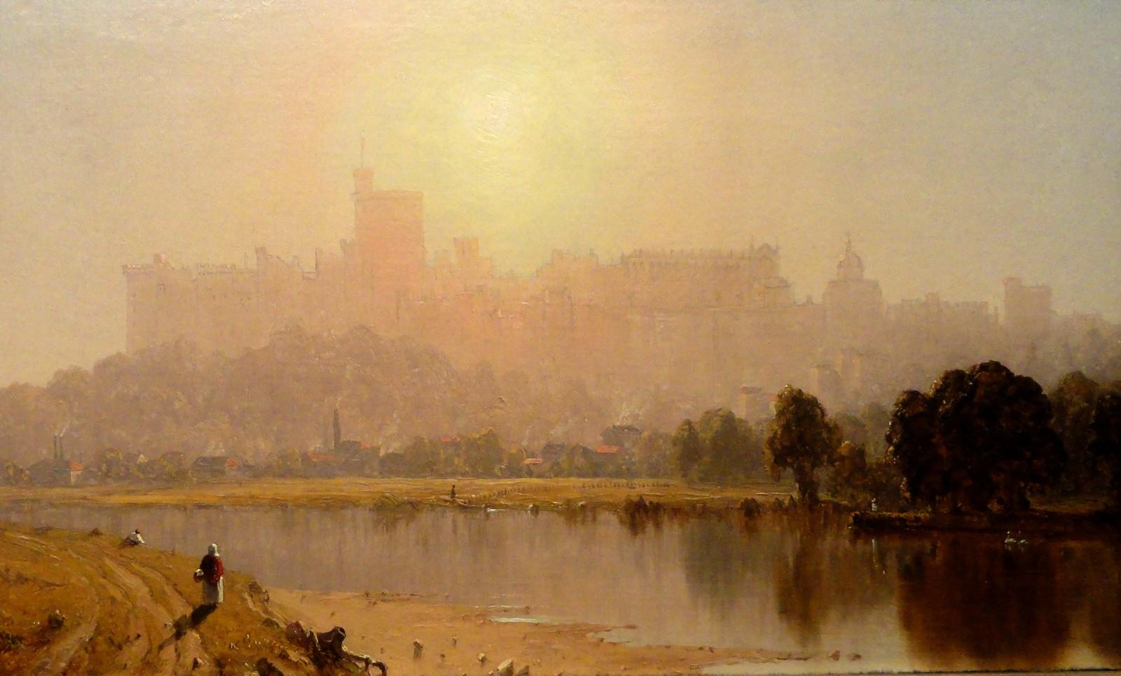 Windsor Castle, Sanford Robinson Gifford, c. 1860