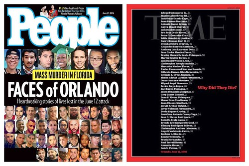 Pulse Orlando Nightclub Shooting from People/Time magazines