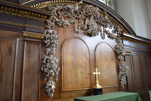 Grinling Gibbons carvings