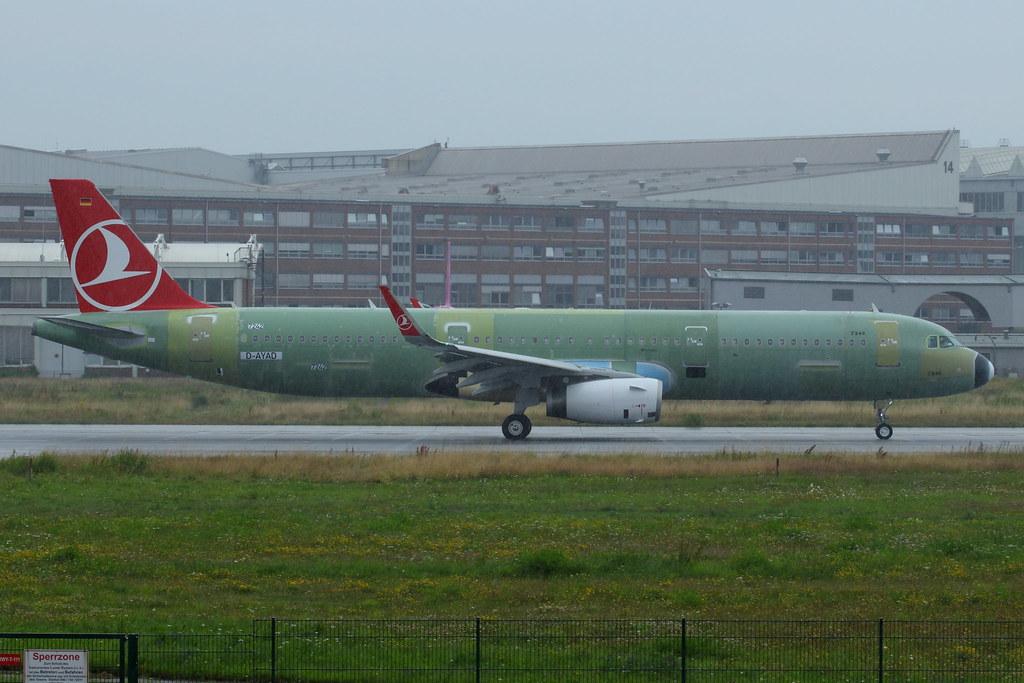 TC-JTM - A321 - Turkish Airlines