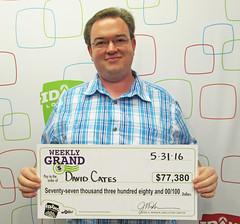 David Cates - $77,380 Weekly Grand Jackpot