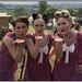 Mel, Nicki & Katie (The Victory Girls) by John Mackaill