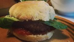 Self made Burger