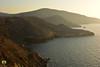 Le soleil se couche sur les falaises de Zouanif