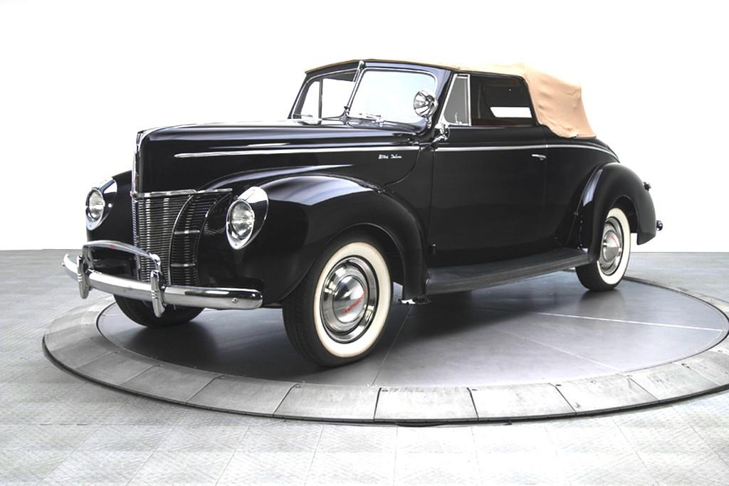 40023_B Ford Deluxe 221CI Flathead V8 3SPD CV_Black